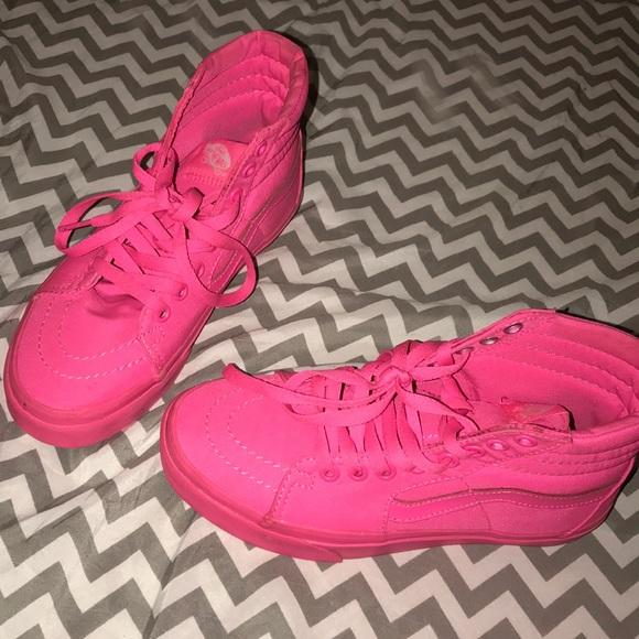 e902c1a720 Vans Shoes - Hot Pink Vans